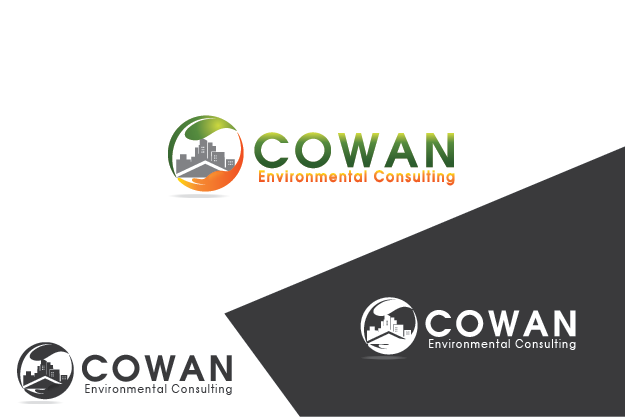 Logo Design by Private User - Entry No. 85 in the Logo Design Contest Fun Logo Design for Cowan Environmental Consulting.