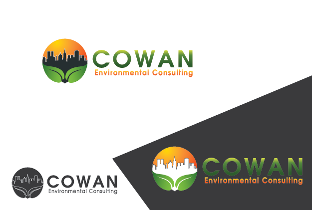 Logo Design by Private User - Entry No. 86 in the Logo Design Contest Fun Logo Design for Cowan Environmental Consulting.