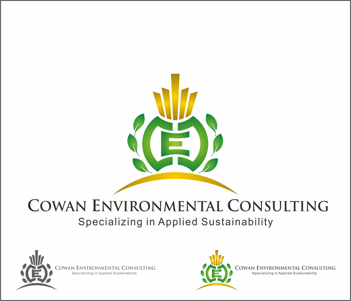 Logo Design by Armada Jamaluddin - Entry No. 87 in the Logo Design Contest Fun Logo Design for Cowan Environmental Consulting.