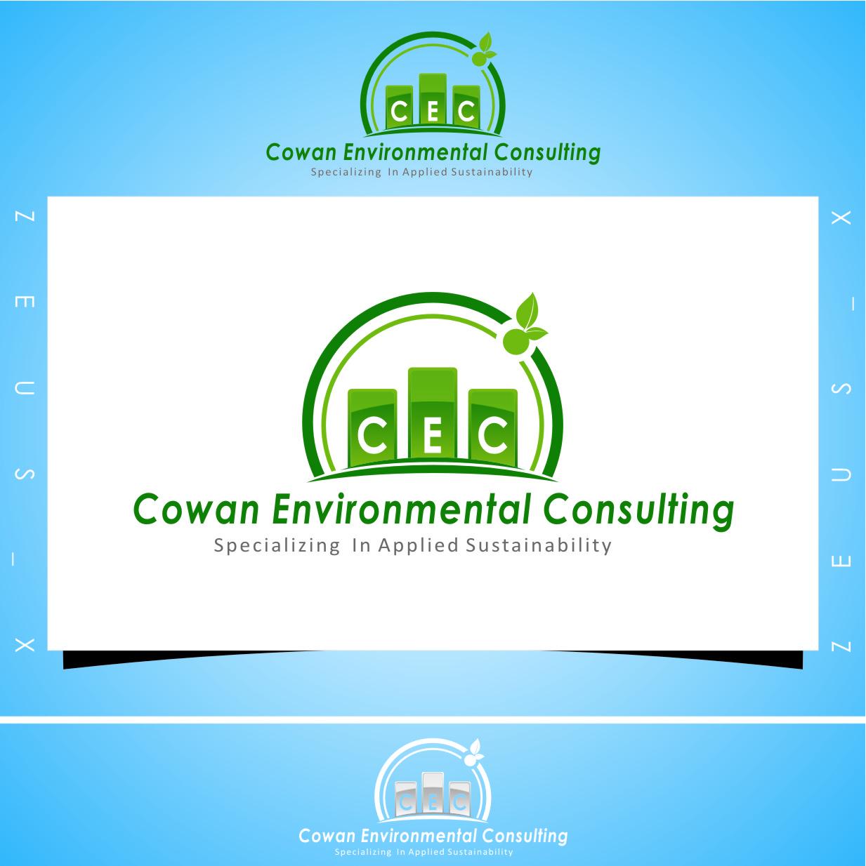 Logo Design by Ngepet_art - Entry No. 91 in the Logo Design Contest Fun Logo Design for Cowan Environmental Consulting.
