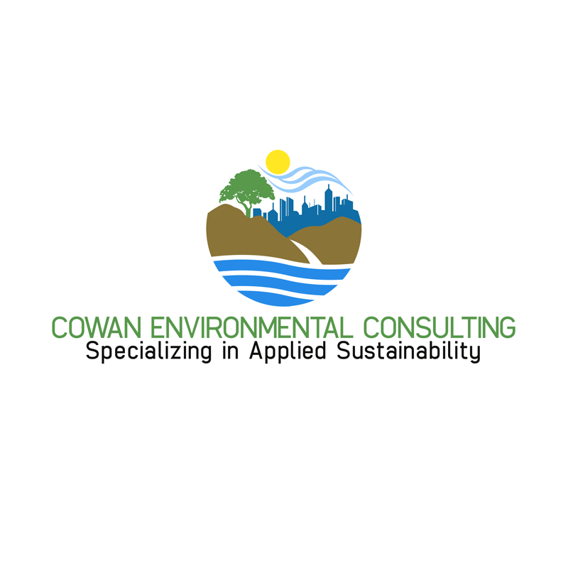 Logo Design by Private User - Entry No. 92 in the Logo Design Contest Fun Logo Design for Cowan Environmental Consulting.