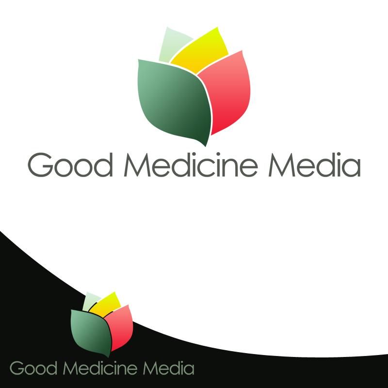 Logo Design by Robert Turla - Entry No. 57 in the Logo Design Contest Good Medicine Media Logo Design.