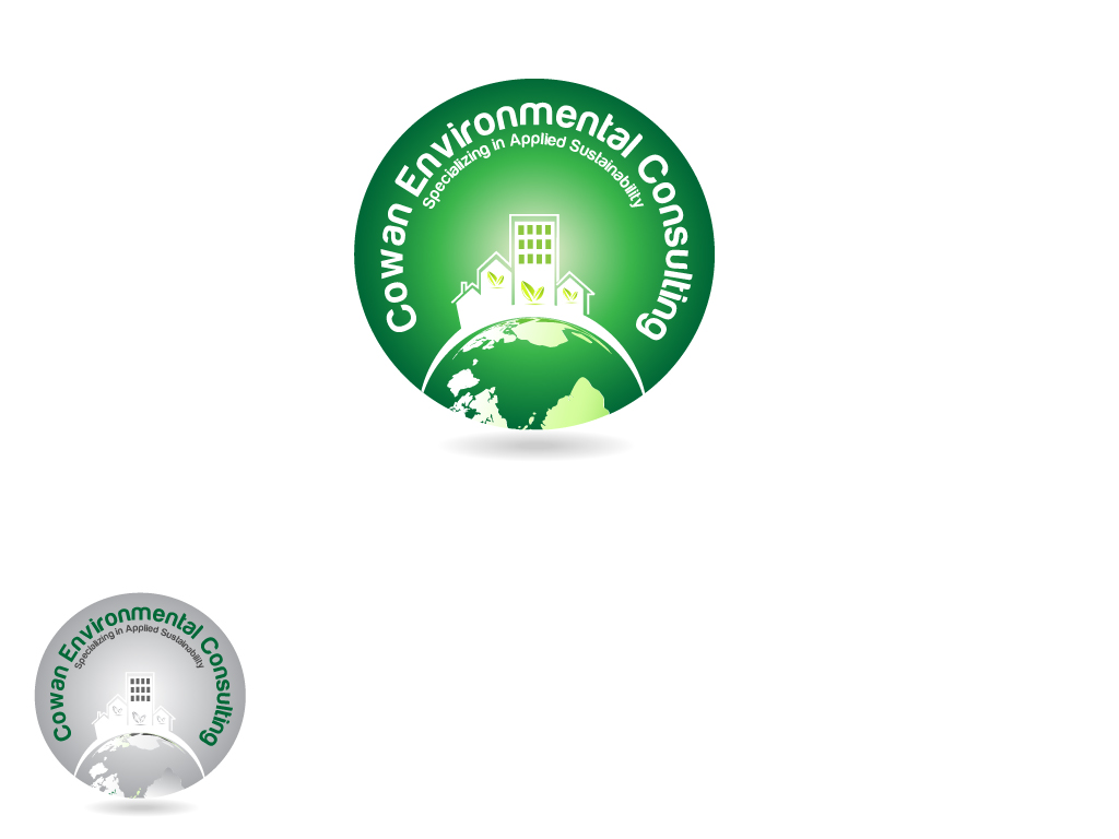 Logo Design by Jagdeep Singh - Entry No. 93 in the Logo Design Contest Fun Logo Design for Cowan Environmental Consulting.