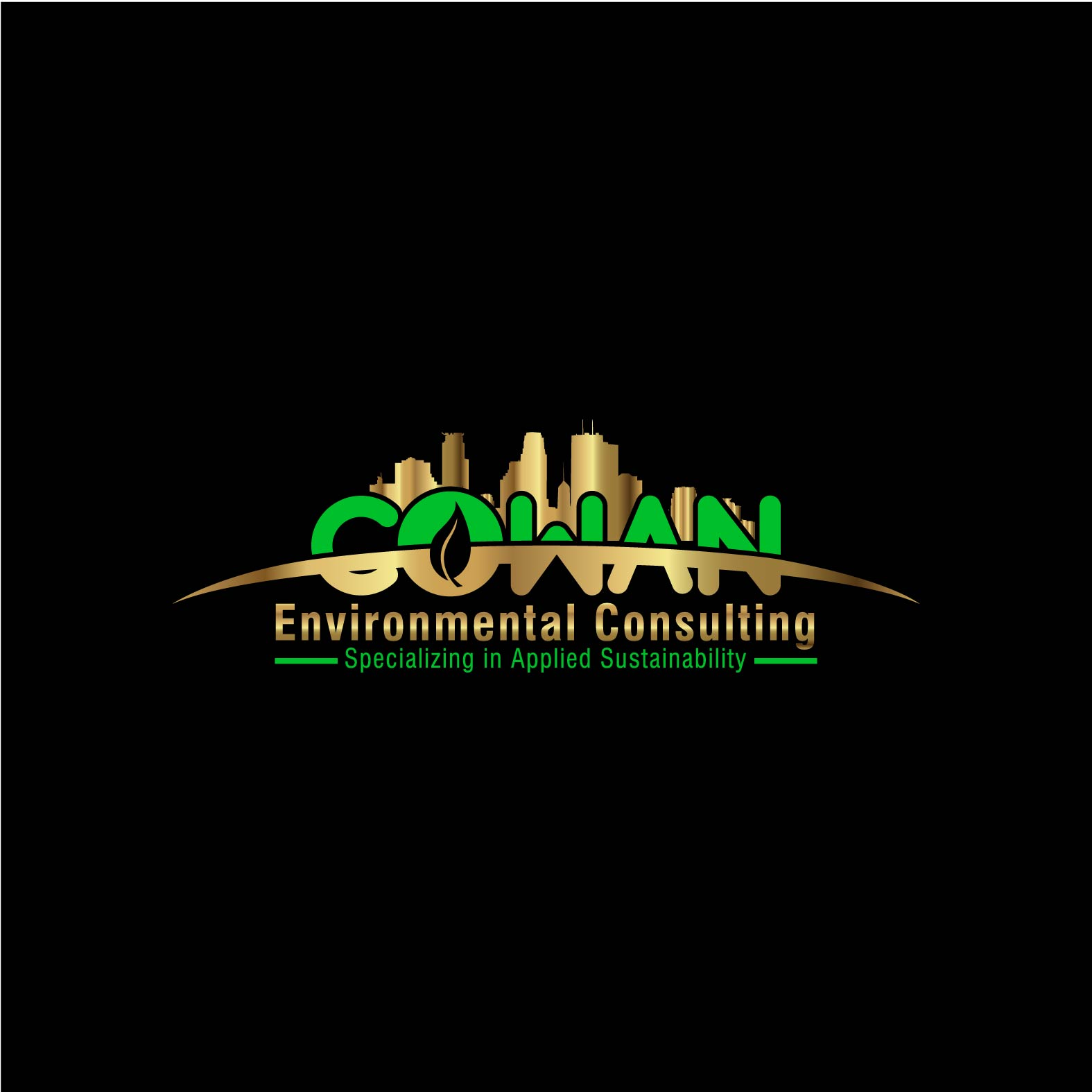 Logo Design by lagalag - Entry No. 95 in the Logo Design Contest Fun Logo Design for Cowan Environmental Consulting.