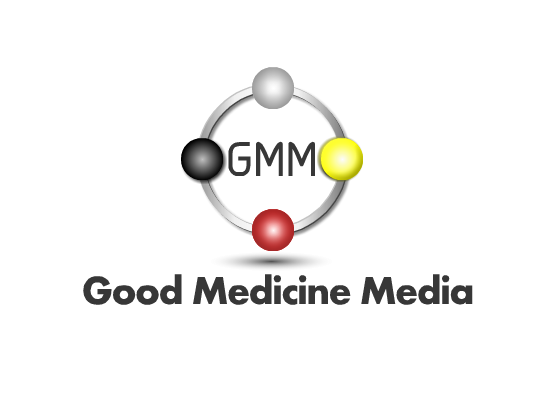 Logo Design by Ismail Adhi Wibowo - Entry No. 58 in the Logo Design Contest Good Medicine Media Logo Design.