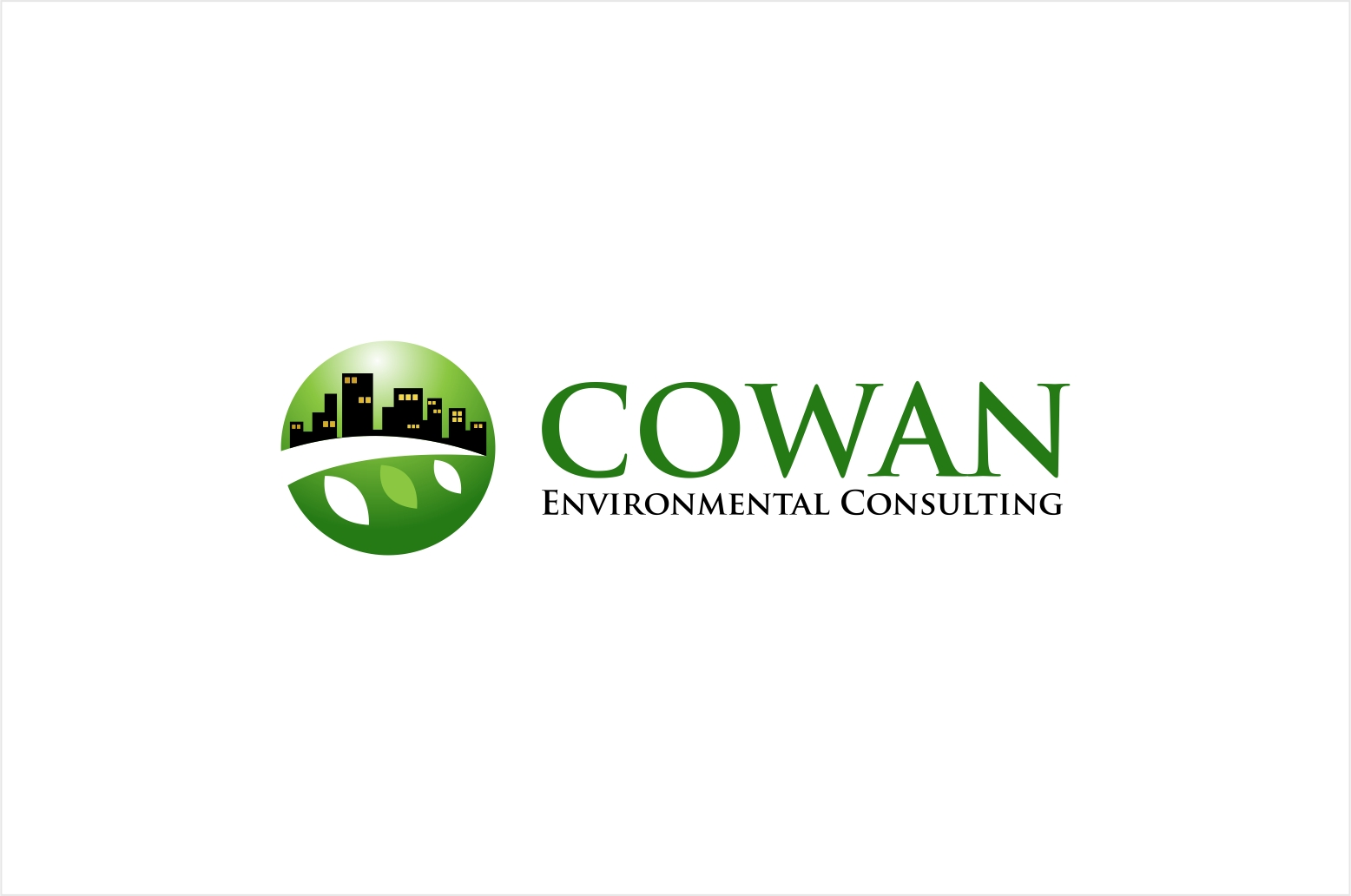Logo Design by haidu - Entry No. 98 in the Logo Design Contest Fun Logo Design for Cowan Environmental Consulting.