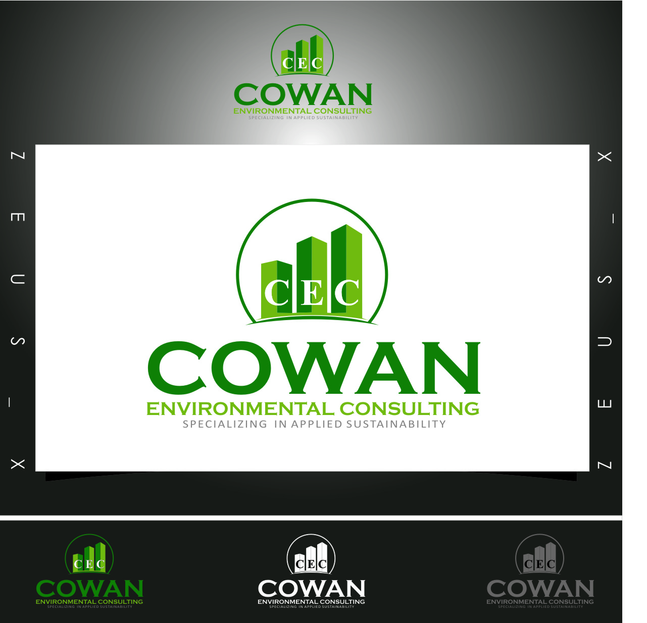 Logo Design by Ngepet_art - Entry No. 108 in the Logo Design Contest Fun Logo Design for Cowan Environmental Consulting.