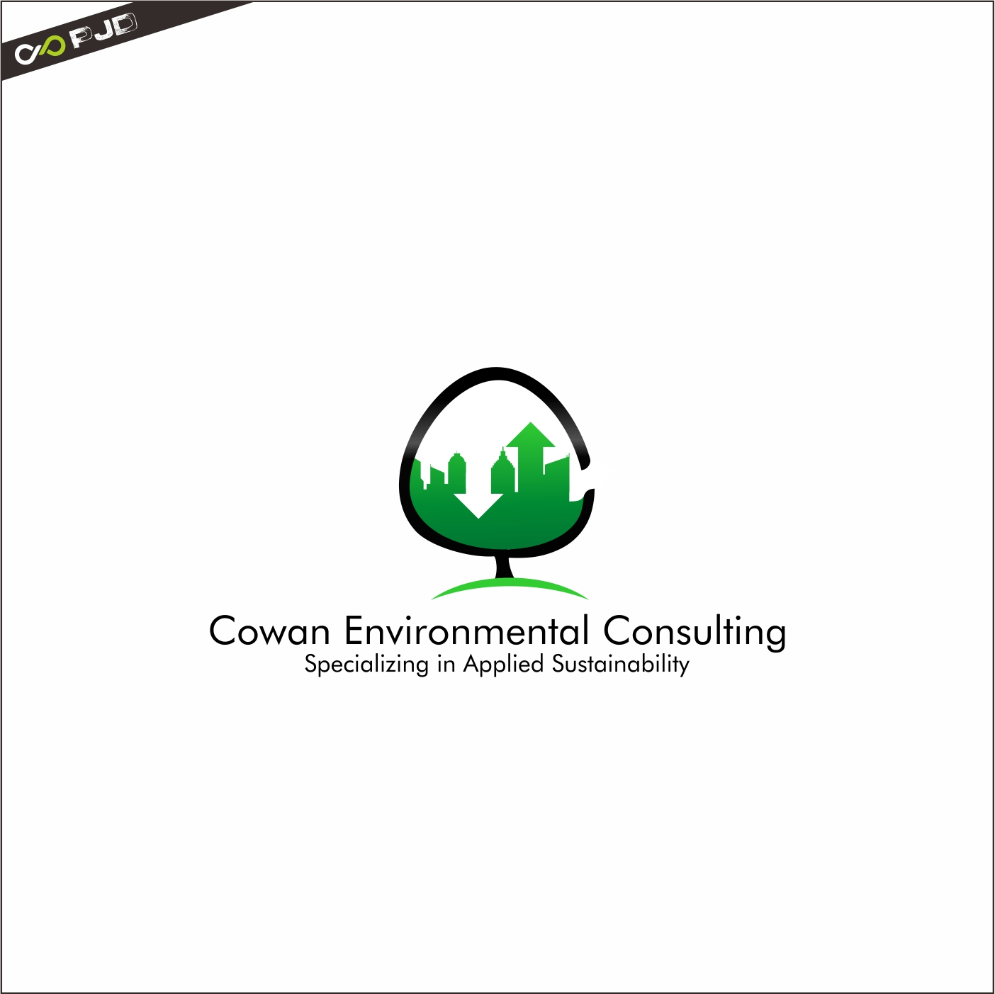 Logo Design by PJD - Entry No. 112 in the Logo Design Contest Fun Logo Design for Cowan Environmental Consulting.