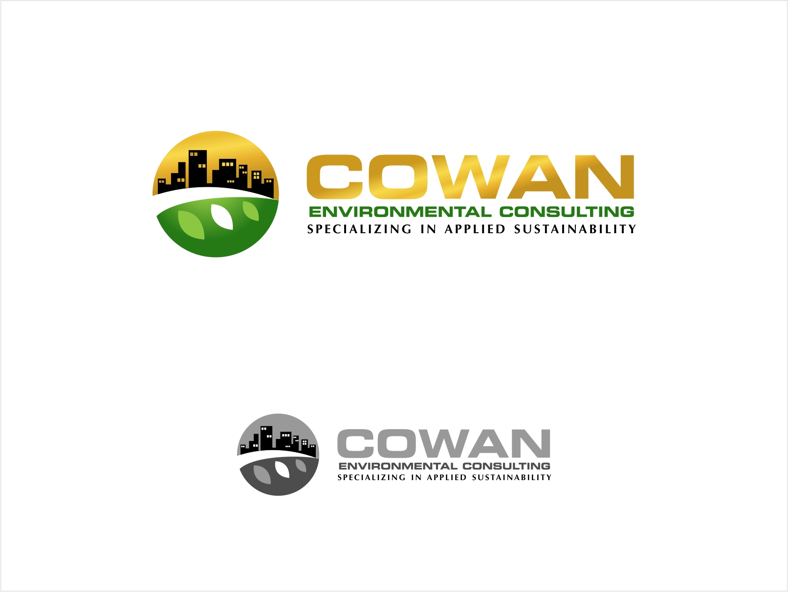 Logo Design by haidu - Entry No. 114 in the Logo Design Contest Fun Logo Design for Cowan Environmental Consulting.