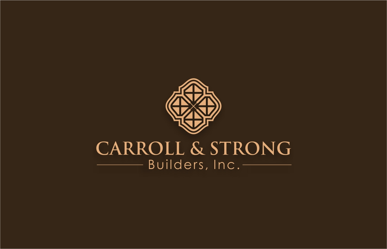 Logo Design by haidu - Entry No. 10 in the Logo Design Contest New Logo Design for Carroll & Strong Builders, Inc..
