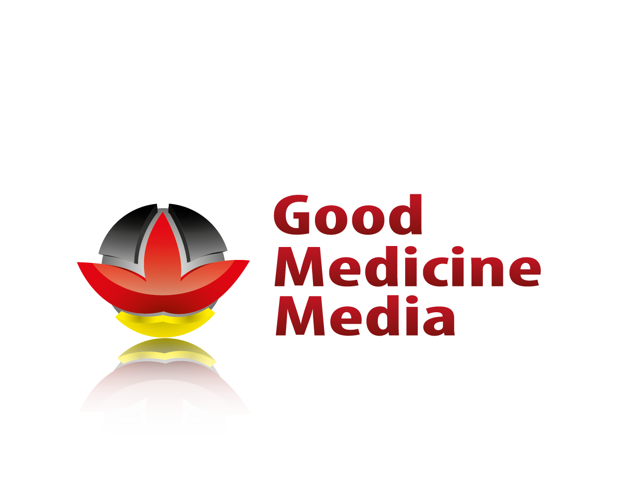 Logo Design by 354studio - Entry No. 61 in the Logo Design Contest Good Medicine Media Logo Design.
