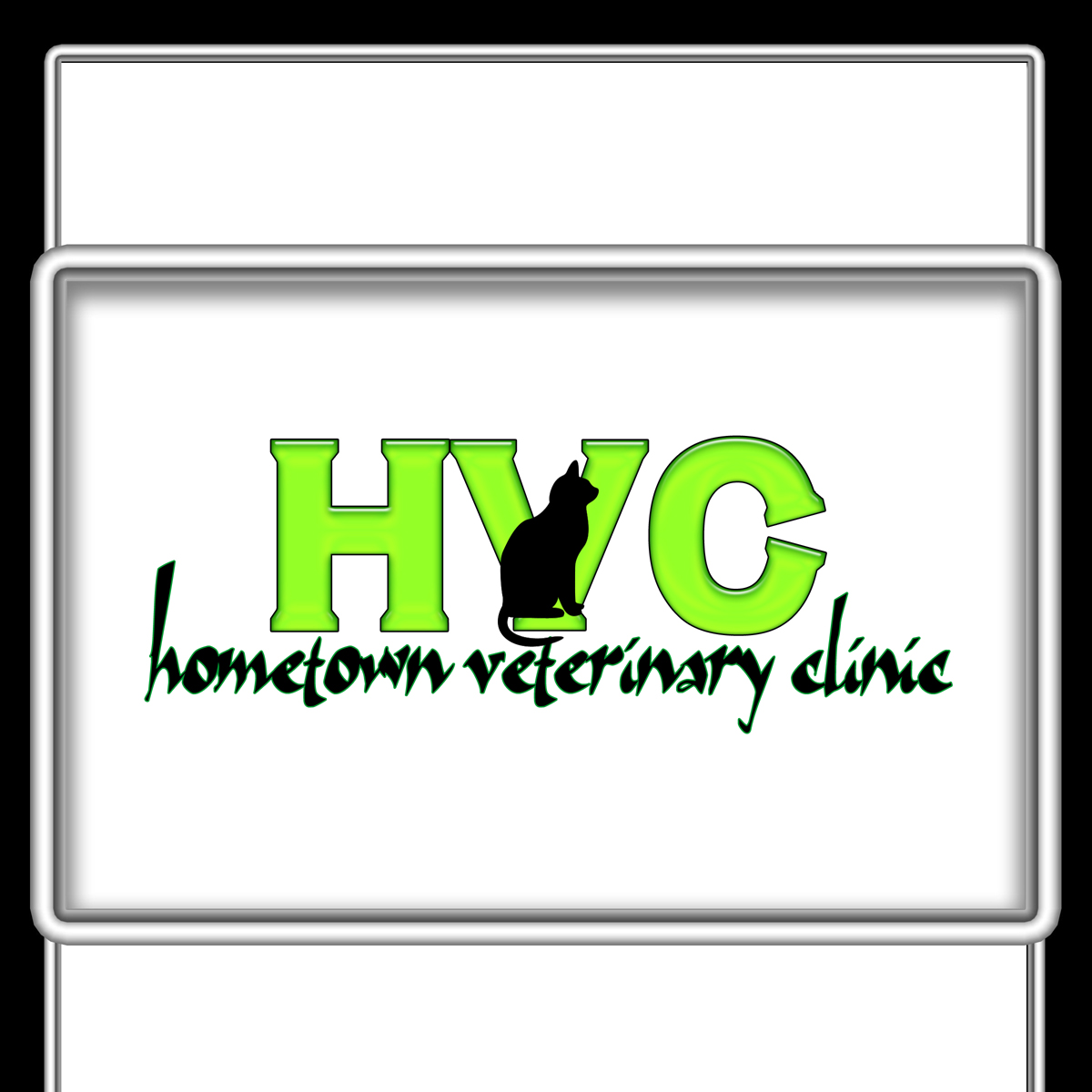 Logo Design by MITUCA ANDREI - Entry No. 20 in the Logo Design Contest Captivating Logo Design for Hometown Veterinary Clinic.