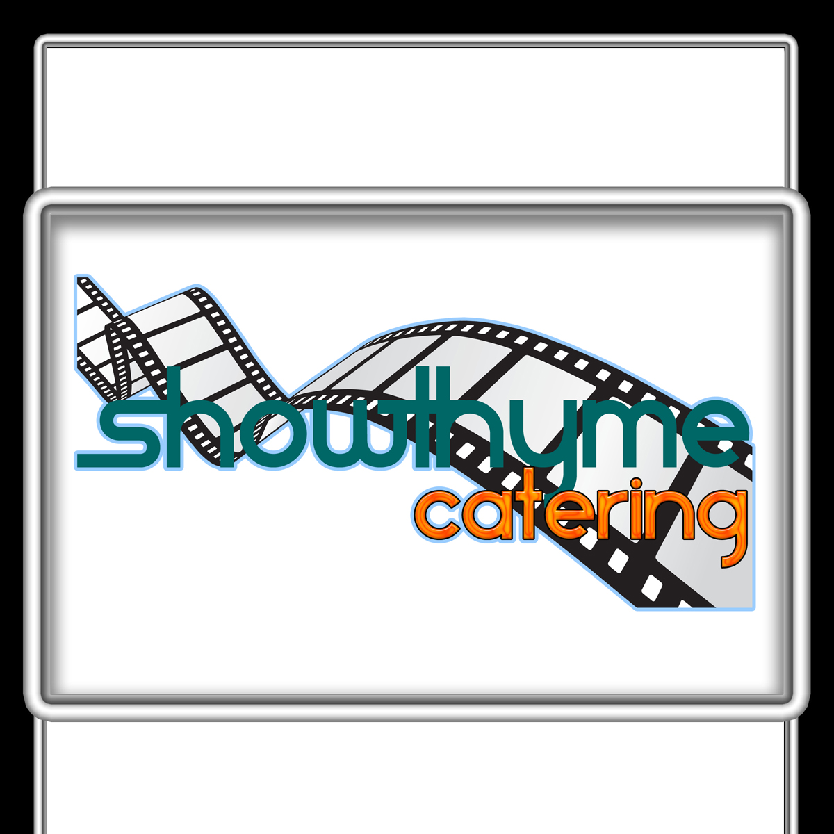 Logo Design by MITUCA ANDREI - Entry No. 7 in the Logo Design Contest Showthyme Catering Logo Design.
