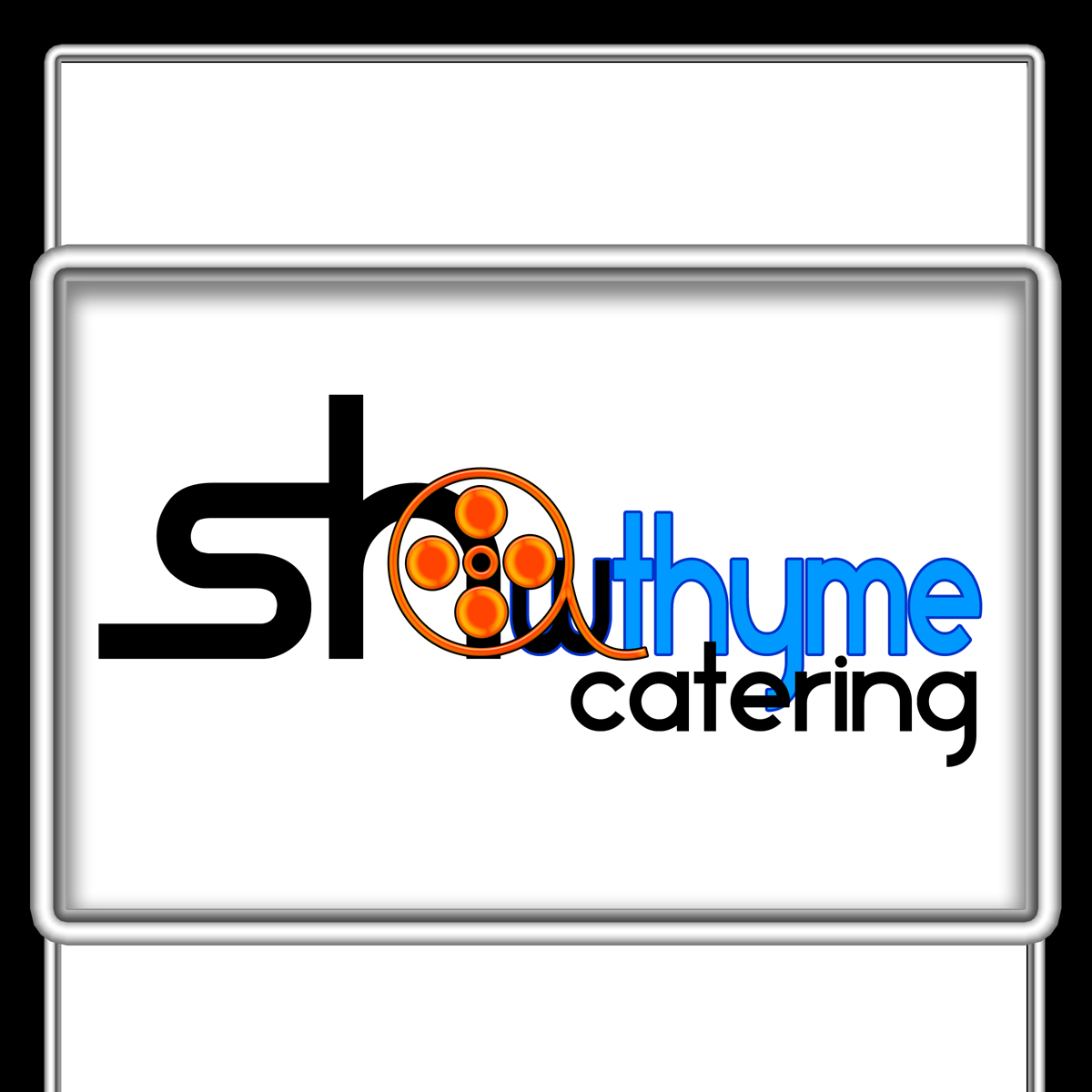 Logo Design by MITUCA ANDREI - Entry No. 8 in the Logo Design Contest Showthyme Catering Logo Design.