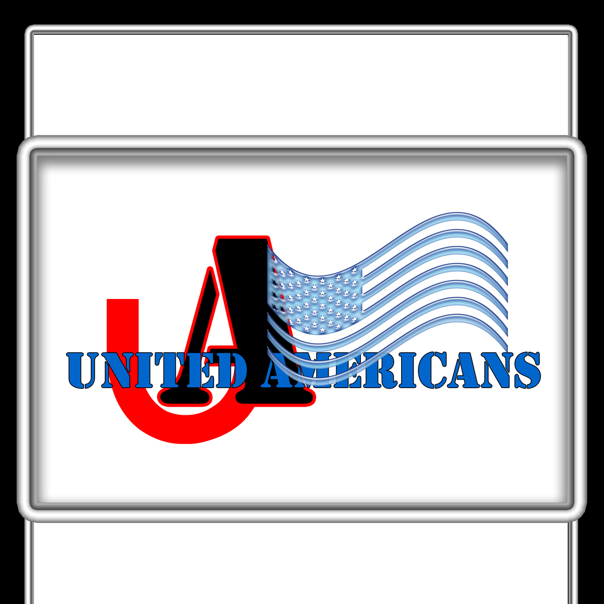 Logo Design by MITUCA ANDREI - Entry No. 15 in the Logo Design Contest Creative Logo Design for United Americans.