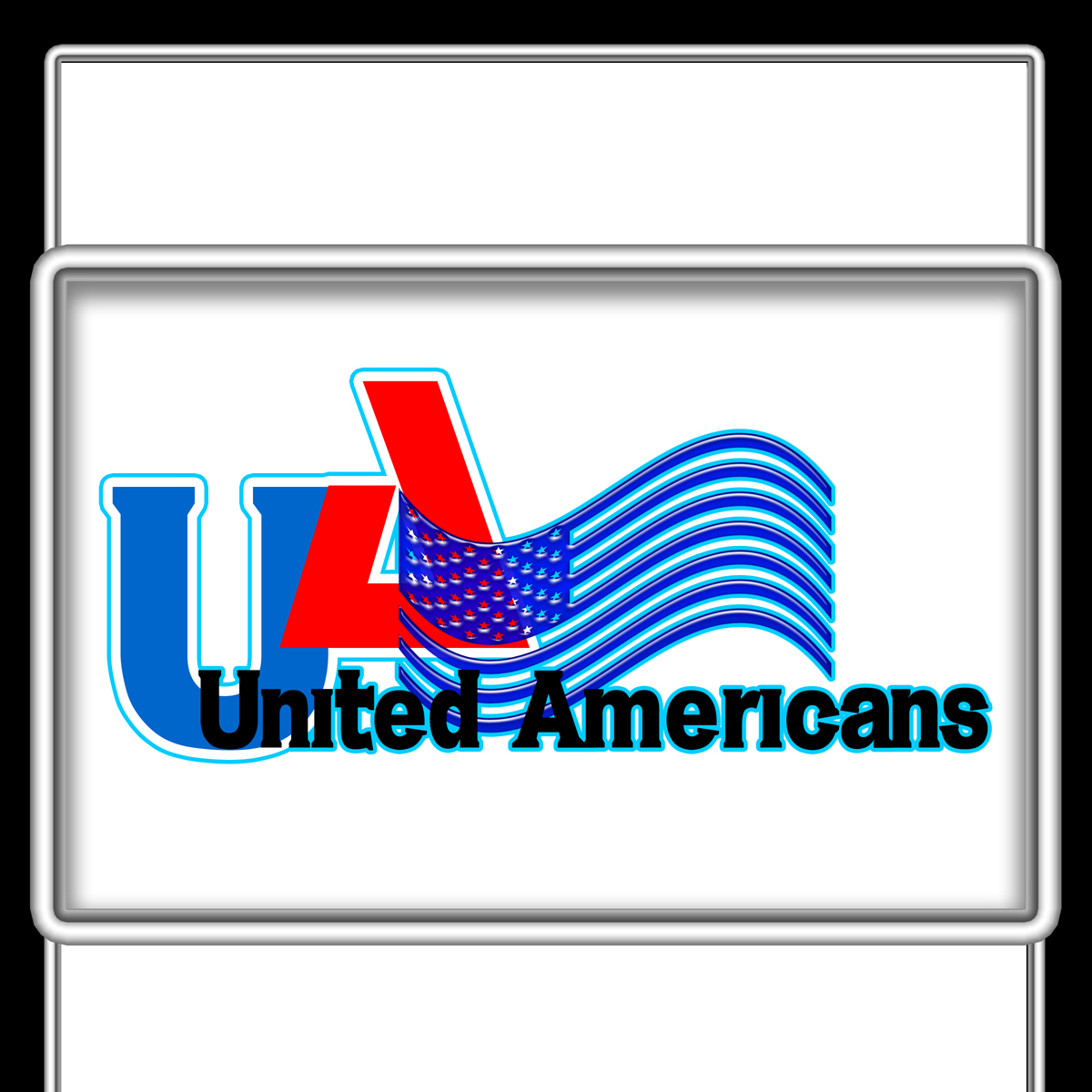 Logo Design by MITUCA ANDREI - Entry No. 16 in the Logo Design Contest Creative Logo Design for United Americans.
