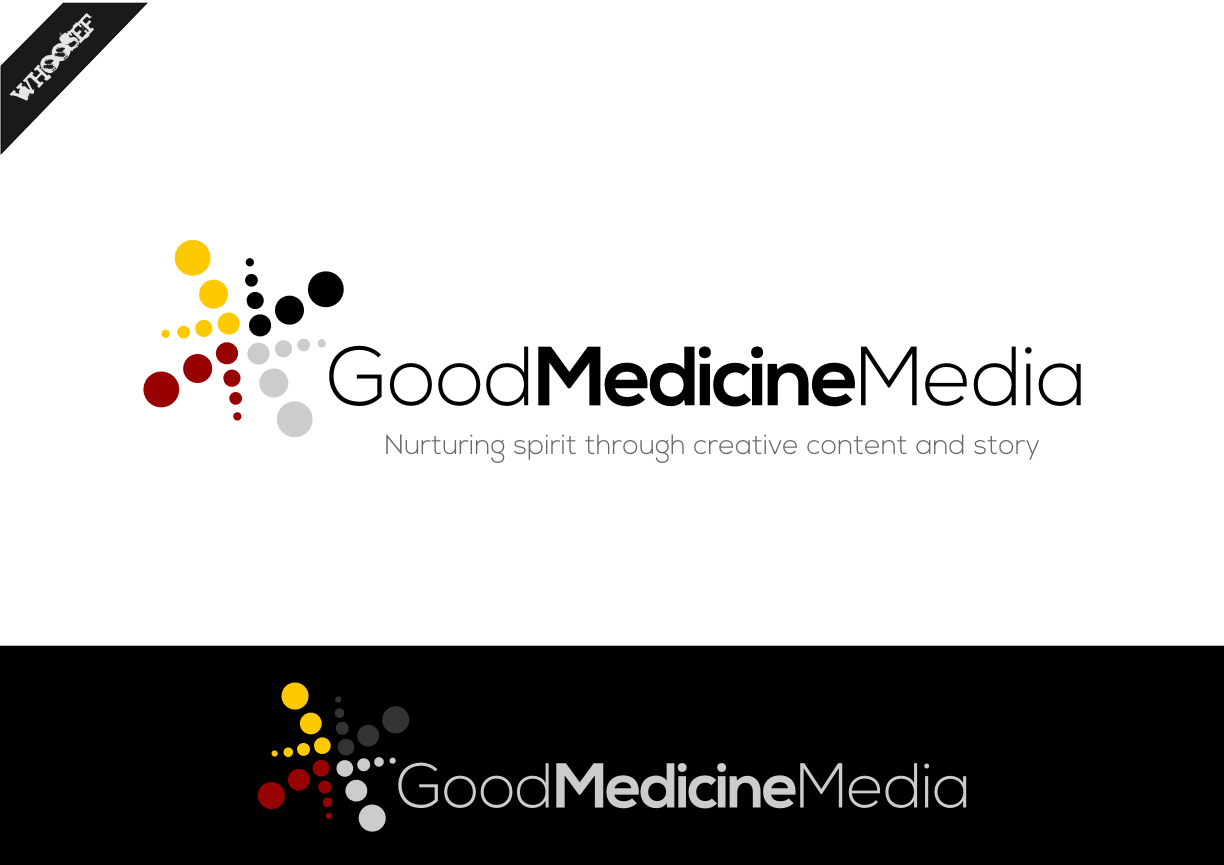 Logo Design by whoosef - Entry No. 62 in the Logo Design Contest Good Medicine Media Logo Design.
