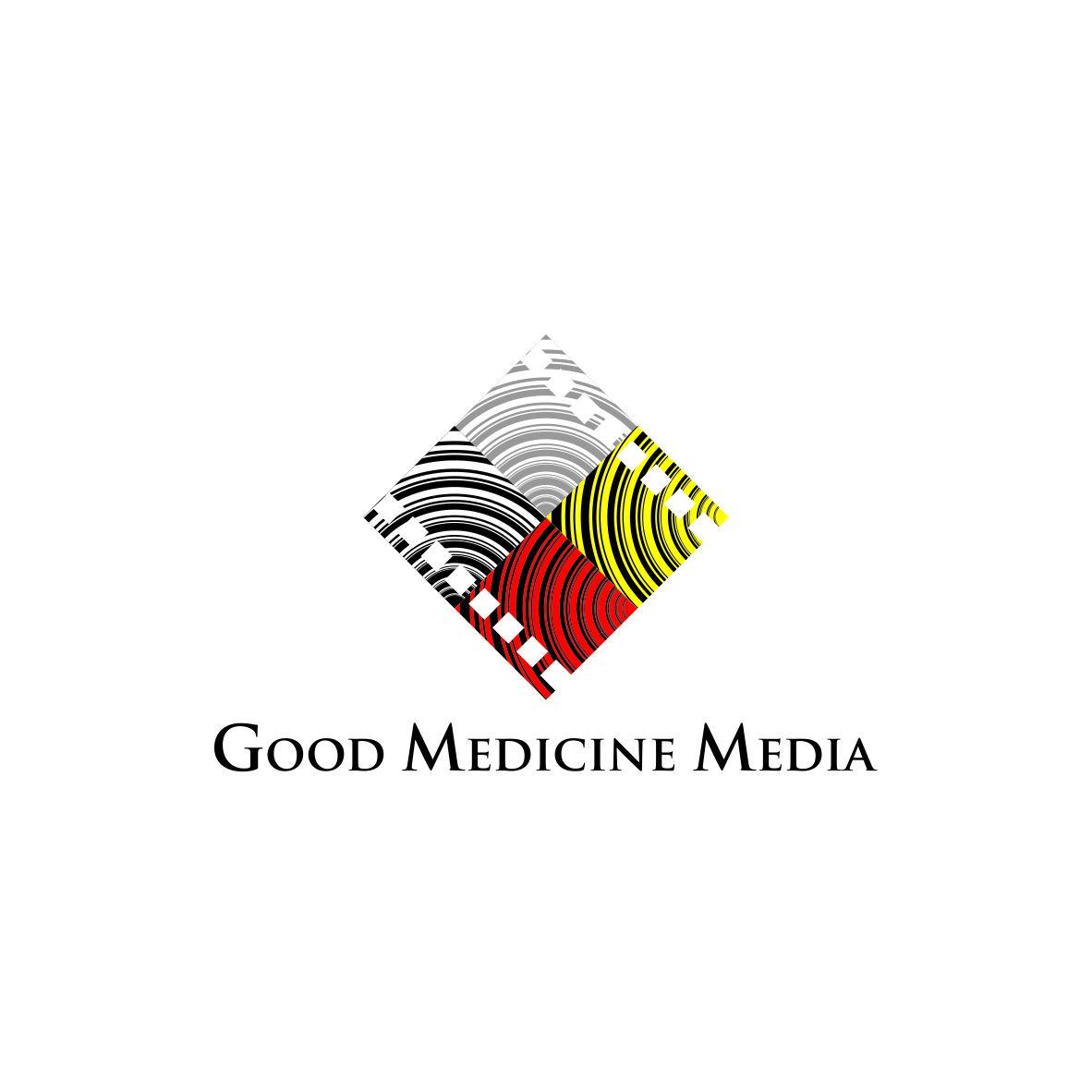 Logo Design by arteo_design - Entry No. 65 in the Logo Design Contest Good Medicine Media Logo Design.