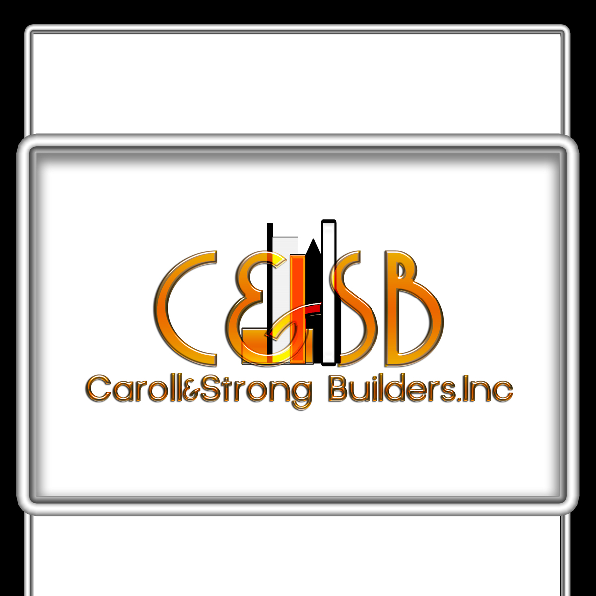 Logo Design by MITUCA ANDREI - Entry No. 15 in the Logo Design Contest New Logo Design for Carroll & Strong Builders, Inc..