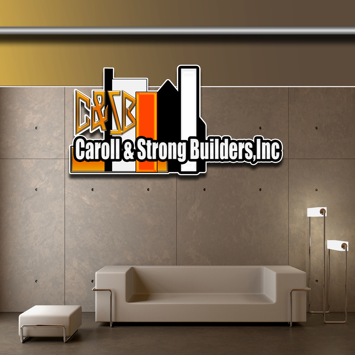 Logo Design by MITUCA ANDREI - Entry No. 18 in the Logo Design Contest New Logo Design for Carroll & Strong Builders, Inc..