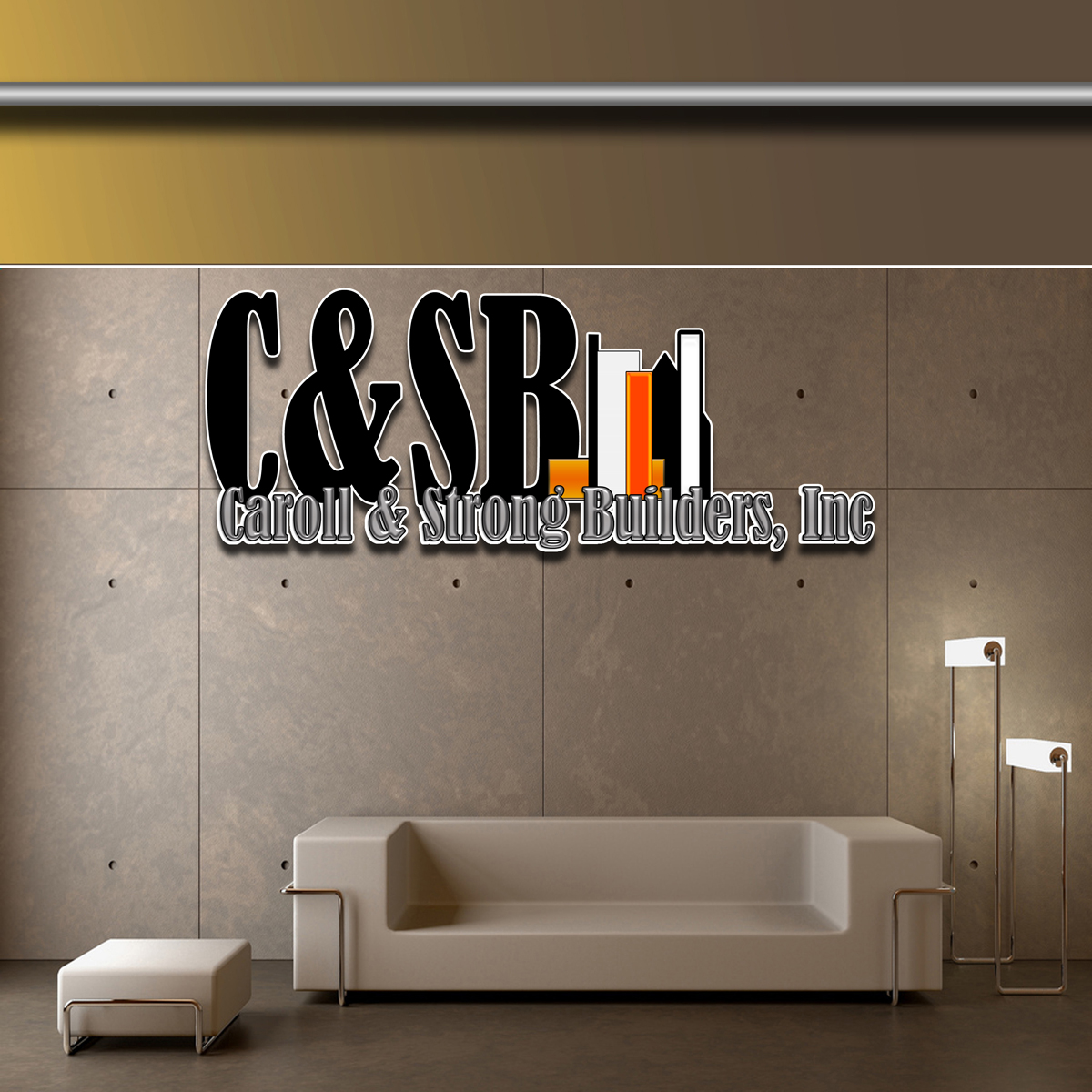 Logo Design by MITUCA ANDREI - Entry No. 19 in the Logo Design Contest New Logo Design for Carroll & Strong Builders, Inc..