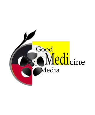 Logo Design by Rakia Raza - Entry No. 78 in the Logo Design Contest Good Medicine Media Logo Design.
