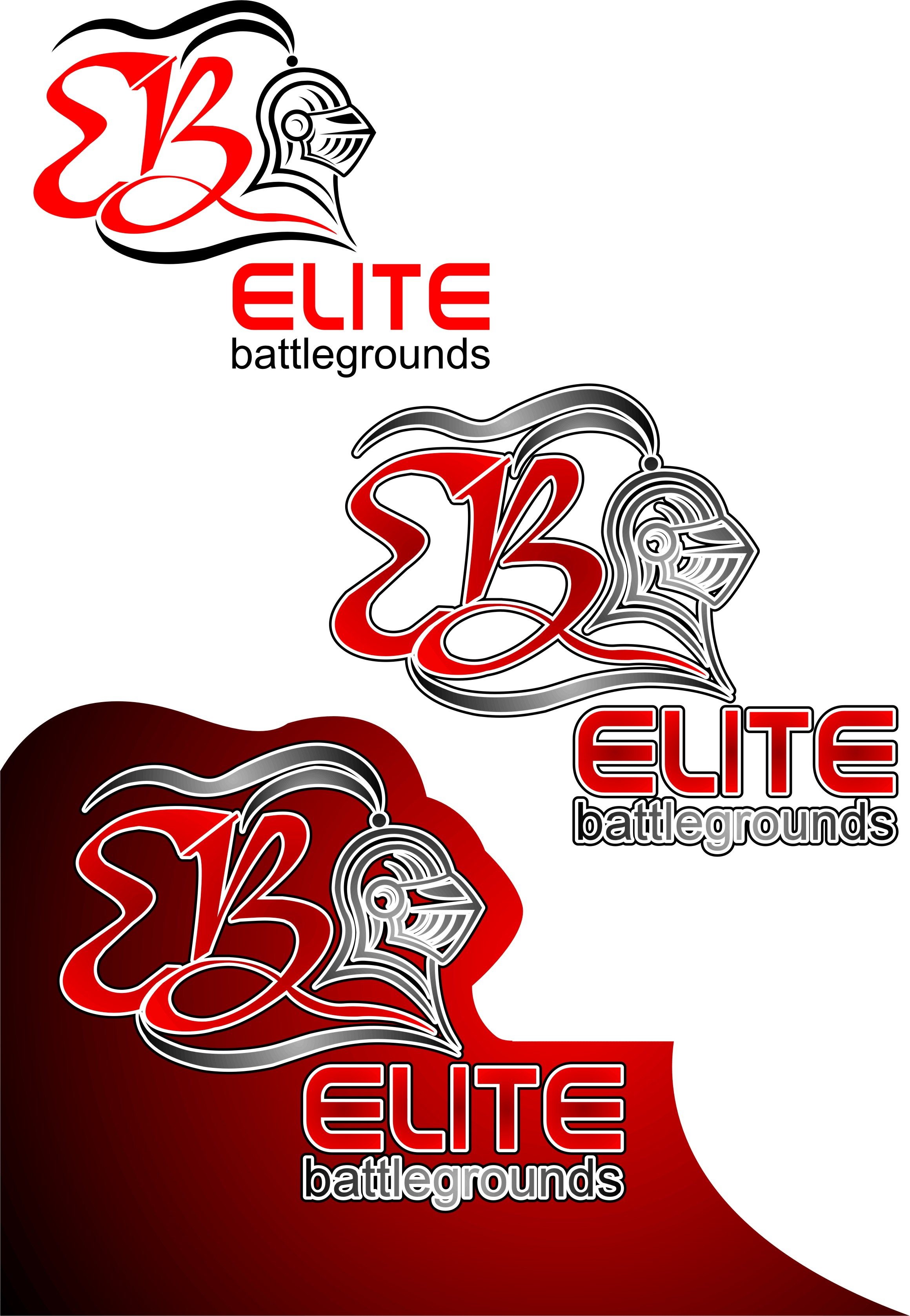 Logo Design by Korsunov Oleg - Entry No. 48 in the Logo Design Contest Creative Logo Design for Elite Battlegrounds.