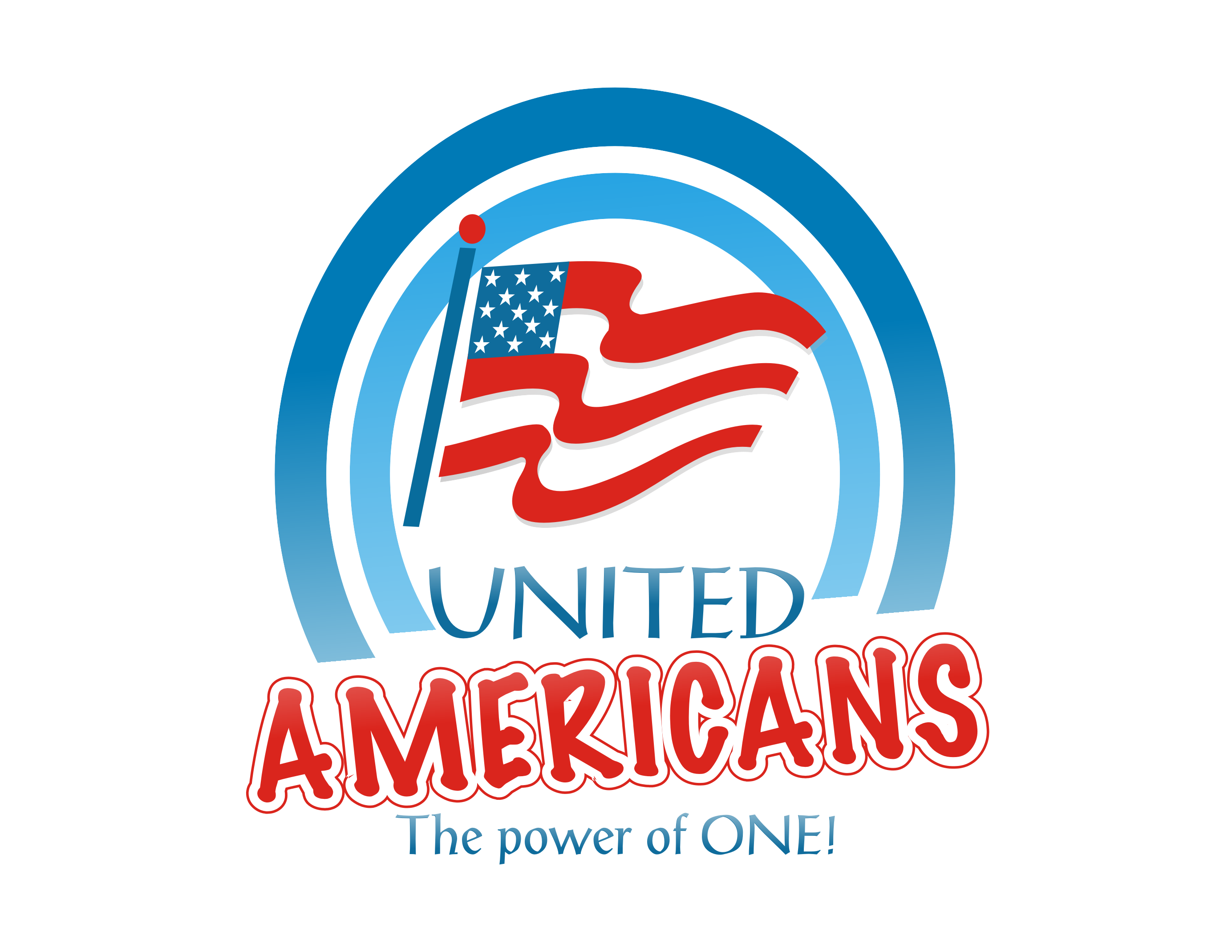 Logo Design by Shailender Kumar - Entry No. 30 in the Logo Design Contest Creative Logo Design for United Americans.