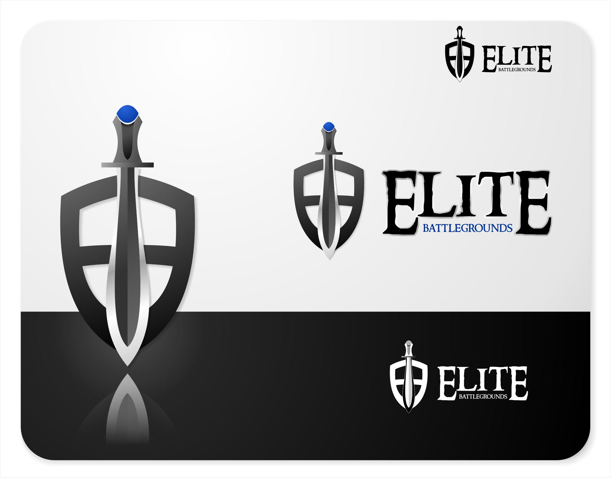 Logo Design by X_Zhire - Entry No. 49 in the Logo Design Contest Creative Logo Design for Elite Battlegrounds.