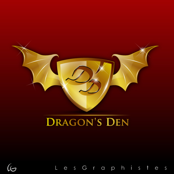 Logo Design by Les-Graphistes - Entry No. 20 in the Logo Design Contest The Dragons' Den needs a new logo.