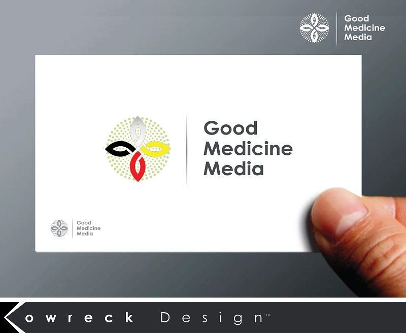 Logo Design by kowreck - Entry No. 84 in the Logo Design Contest Good Medicine Media Logo Design.