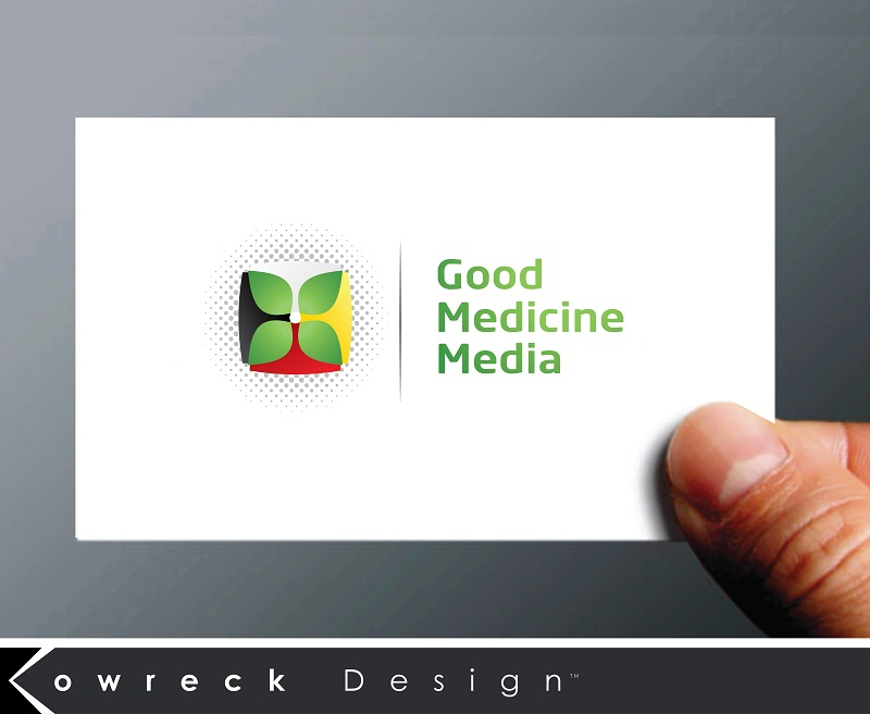 Logo Design by kowreck - Entry No. 85 in the Logo Design Contest Good Medicine Media Logo Design.