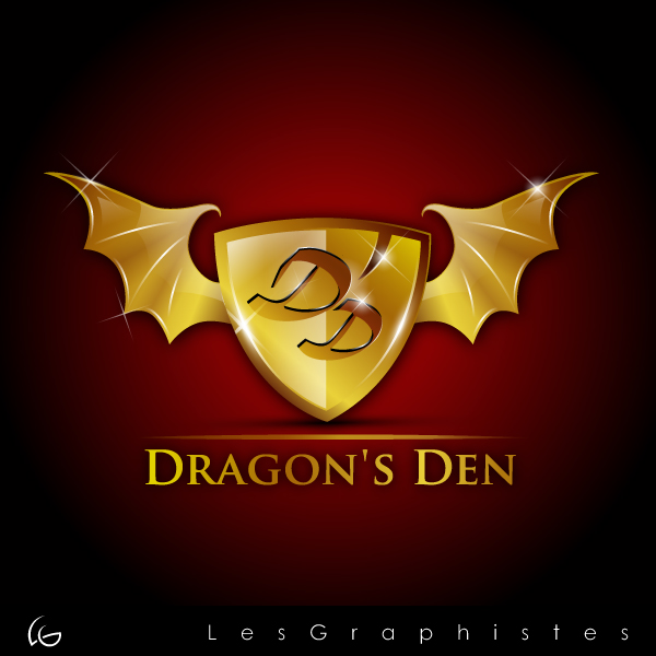 Logo Design by Les-Graphistes - Entry No. 21 in the Logo Design Contest The Dragons' Den needs a new logo.