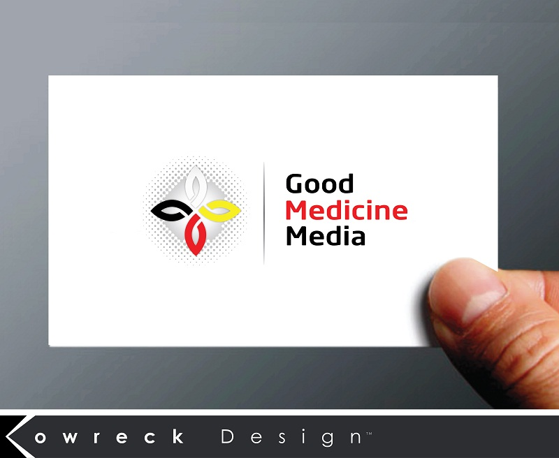Logo Design by kowreck - Entry No. 86 in the Logo Design Contest Good Medicine Media Logo Design.