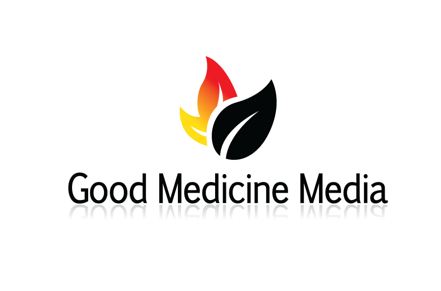 Logo Design by Christina Evans - Entry No. 87 in the Logo Design Contest Good Medicine Media Logo Design.