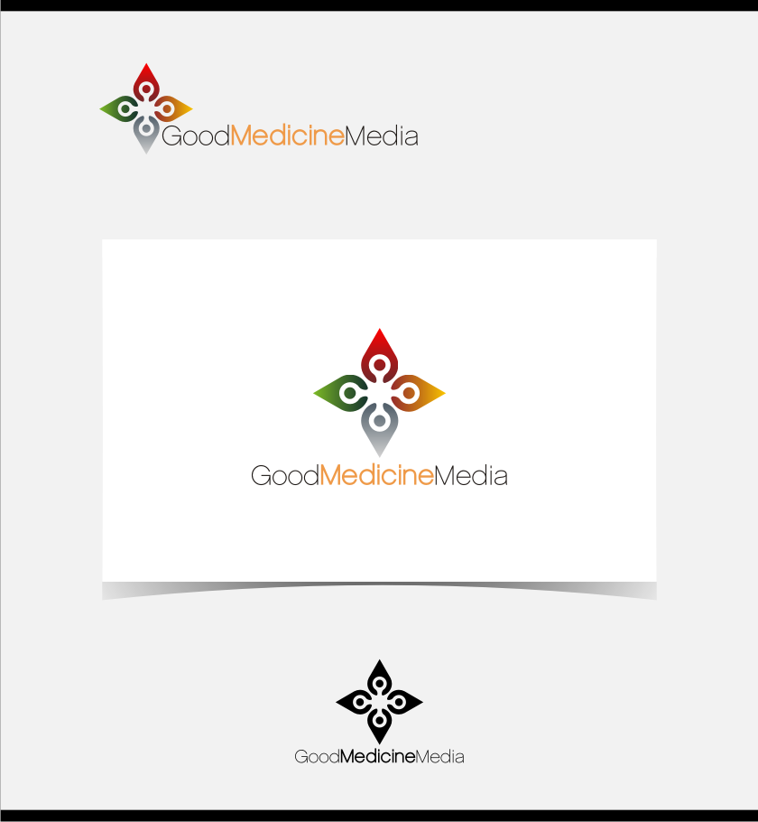 Logo Design by Muhammad Nasrul chasib - Entry No. 89 in the Logo Design Contest Good Medicine Media Logo Design.