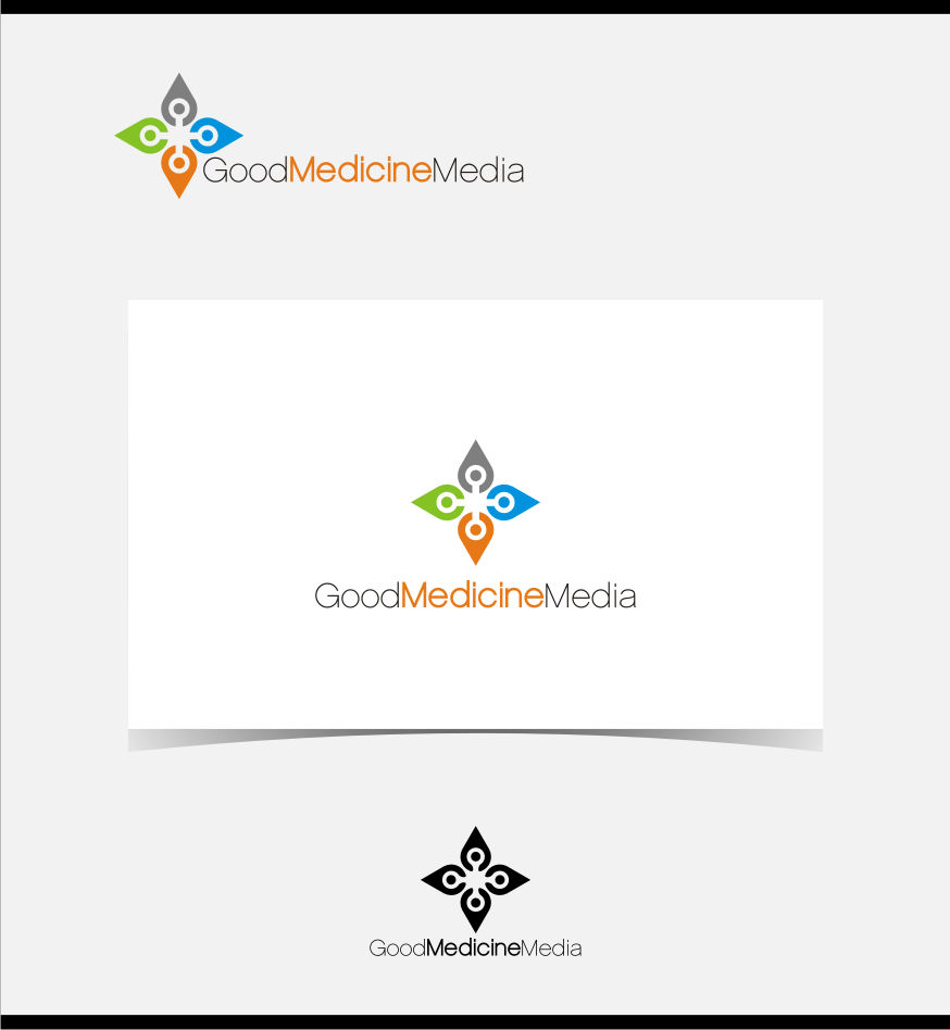 Logo Design by graphicleaf - Entry No. 90 in the Logo Design Contest Good Medicine Media Logo Design.
