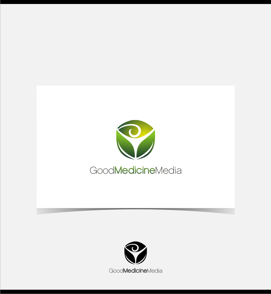 Logo Design by graphicleaf - Entry No. 92 in the Logo Design Contest Good Medicine Media Logo Design.