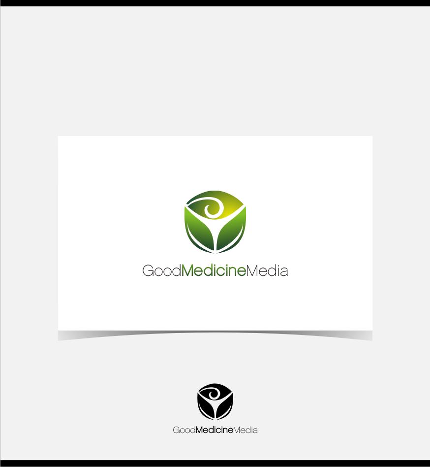 Logo Design by Muhammad Nasrul chasib - Entry No. 92 in the Logo Design Contest Good Medicine Media Logo Design.