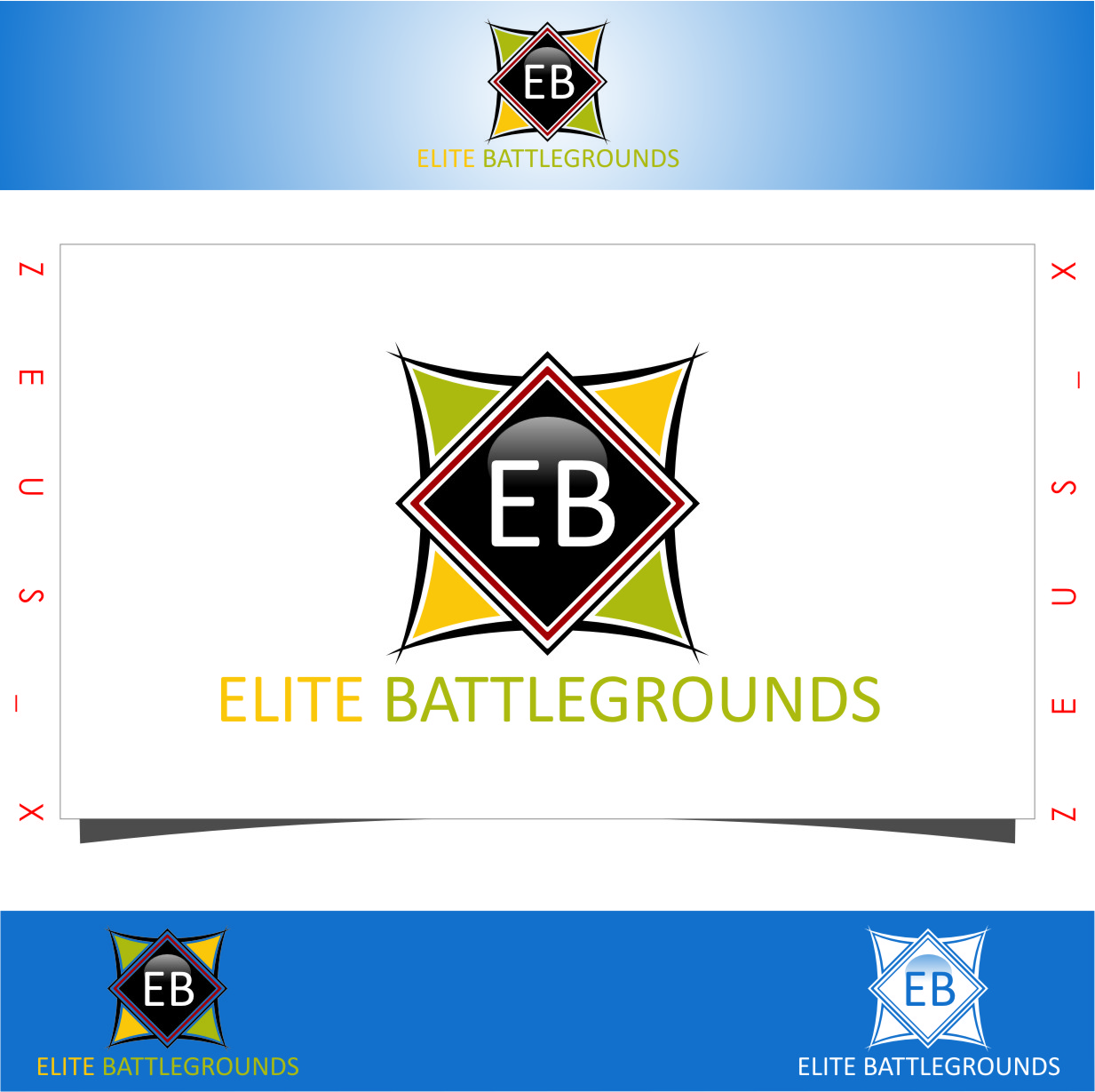 Logo Design by Ngepet_art - Entry No. 53 in the Logo Design Contest Creative Logo Design for Elite Battlegrounds.