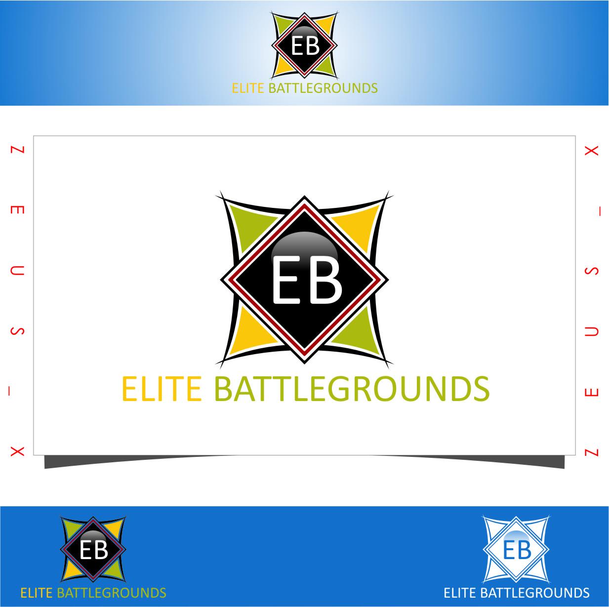 Logo Design by RasYa Muhammad Athaya - Entry No. 53 in the Logo Design Contest Creative Logo Design for Elite Battlegrounds.