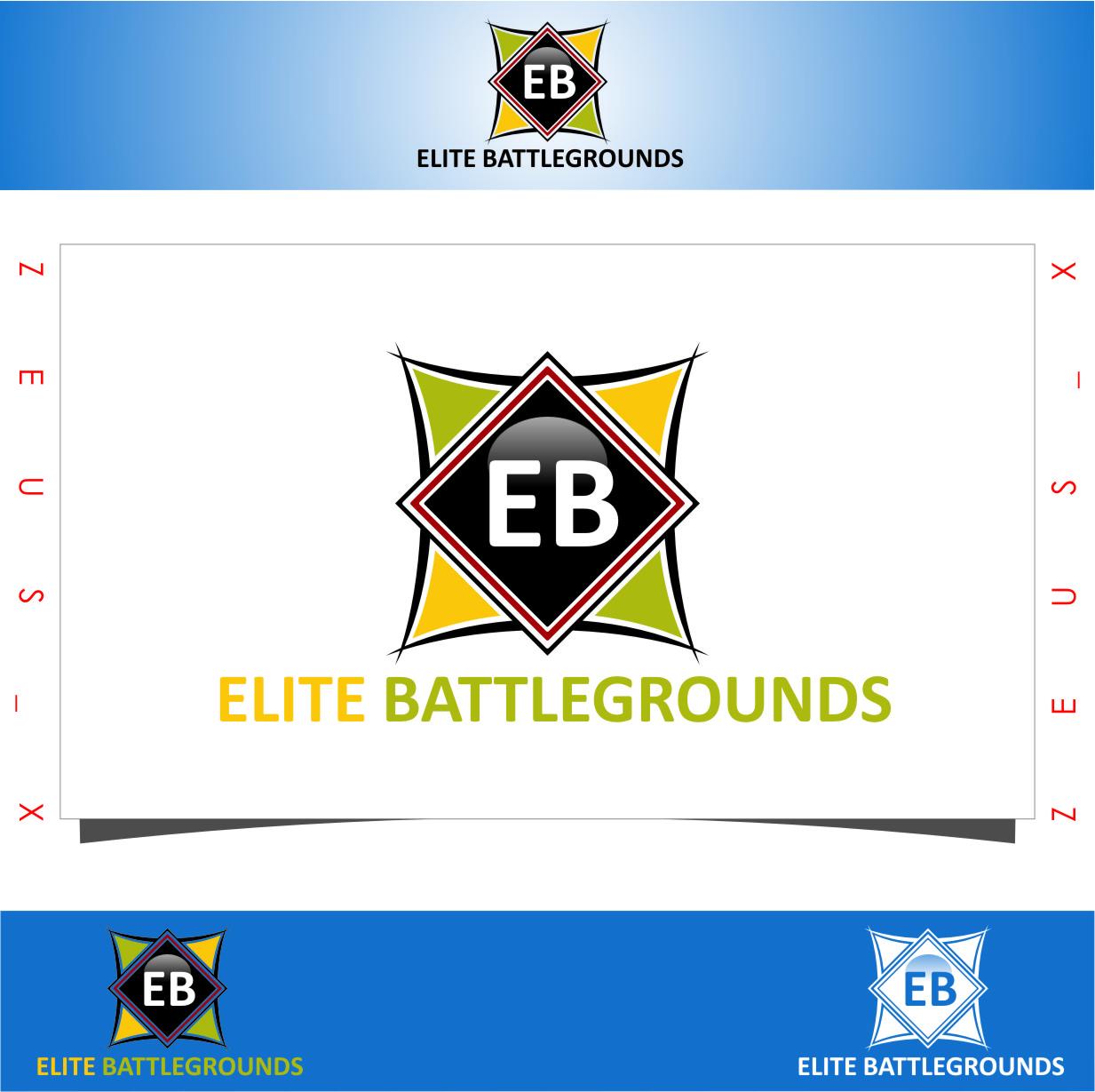 Logo Design by Ngepet_art - Entry No. 54 in the Logo Design Contest Creative Logo Design for Elite Battlegrounds.