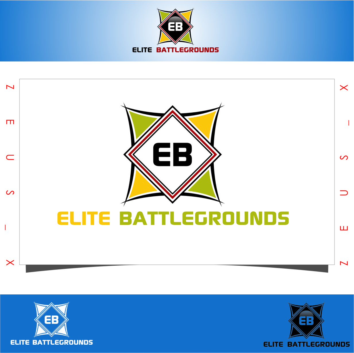 Logo Design by Ngepet_art - Entry No. 55 in the Logo Design Contest Creative Logo Design for Elite Battlegrounds.