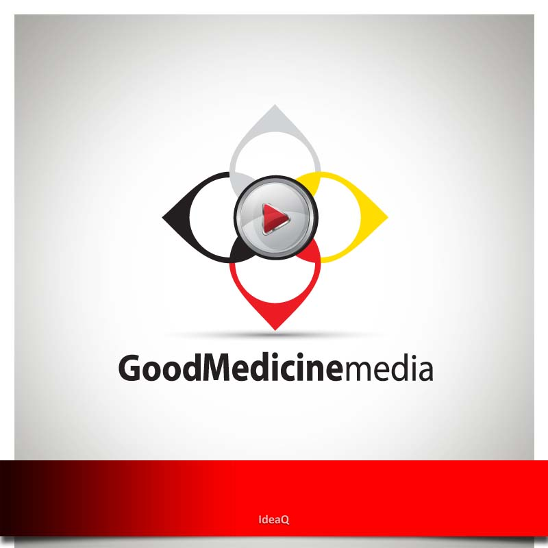 Logo Design by Private User - Entry No. 95 in the Logo Design Contest Good Medicine Media Logo Design.