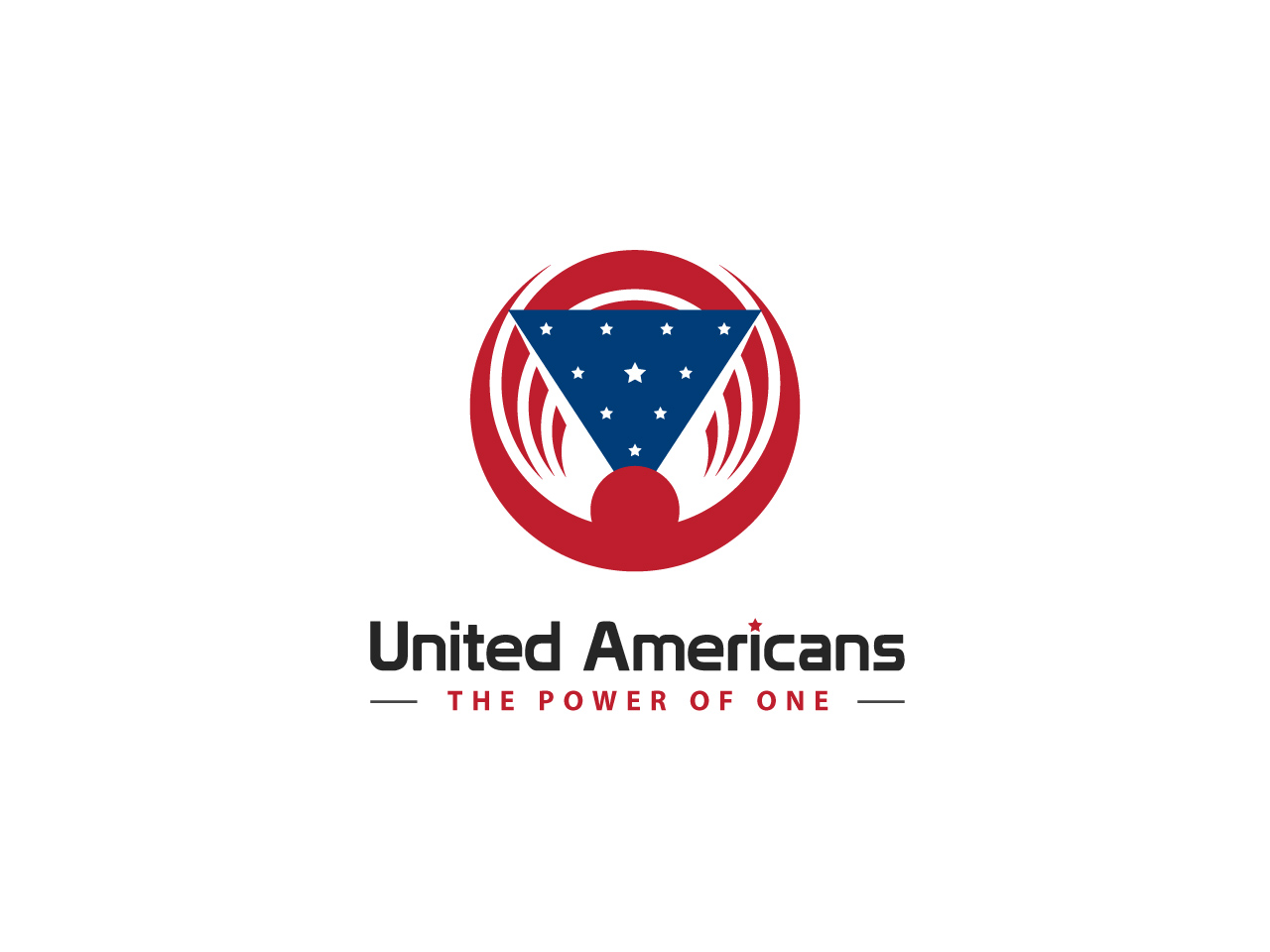 Logo Design by jpbituin - Entry No. 33 in the Logo Design Contest Creative Logo Design for United Americans.