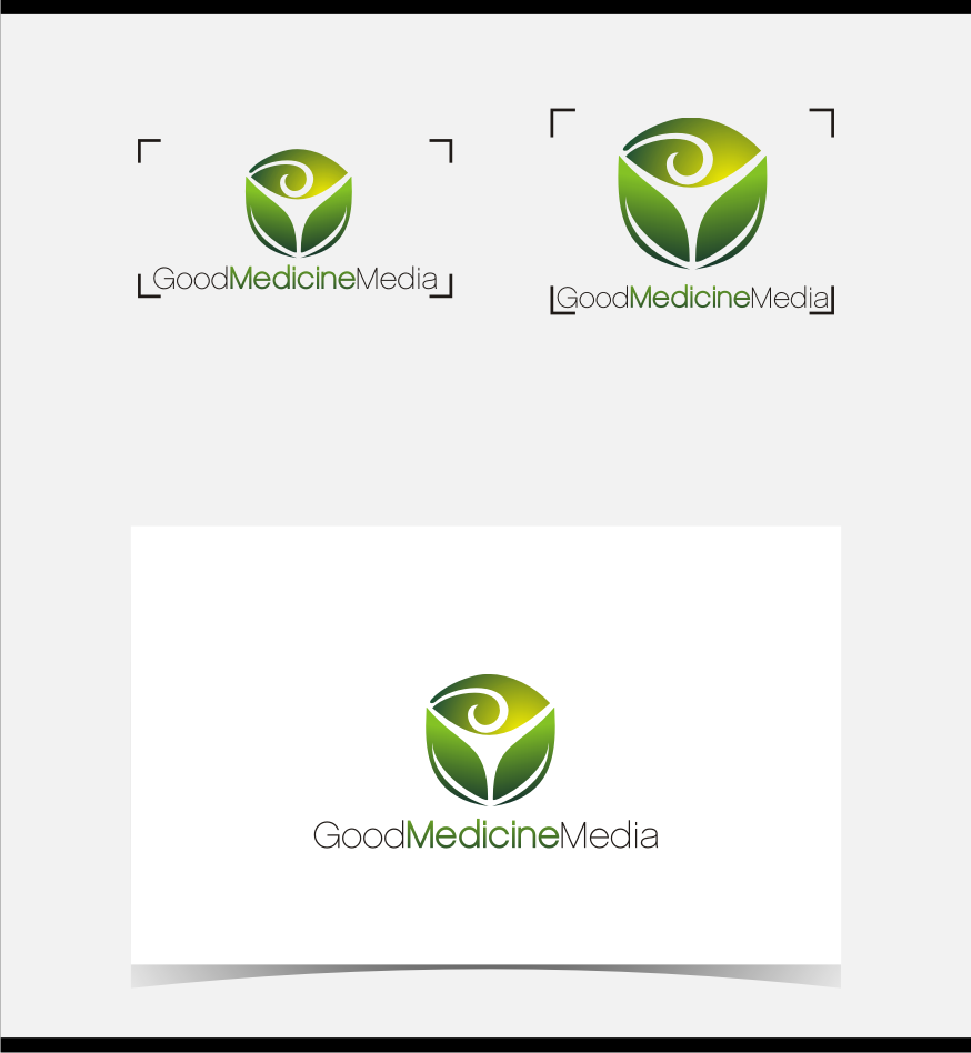 Logo Design by graphicleaf - Entry No. 98 in the Logo Design Contest Good Medicine Media Logo Design.