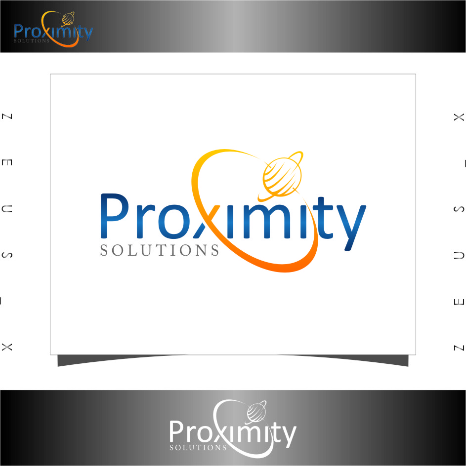 Logo Design by RoSyid Rono-Rene On Java - Entry No. 105 in the Logo Design Contest New Logo Design for Proximity Solutions.