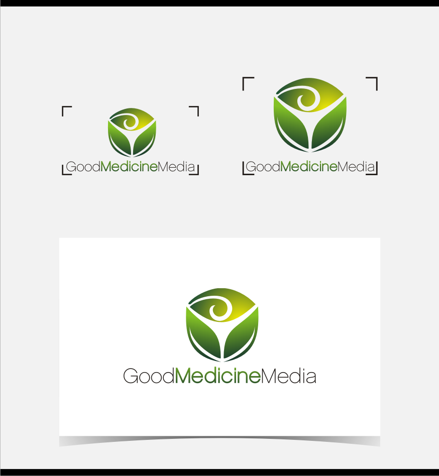 Logo Design by graphicleaf - Entry No. 99 in the Logo Design Contest Good Medicine Media Logo Design.