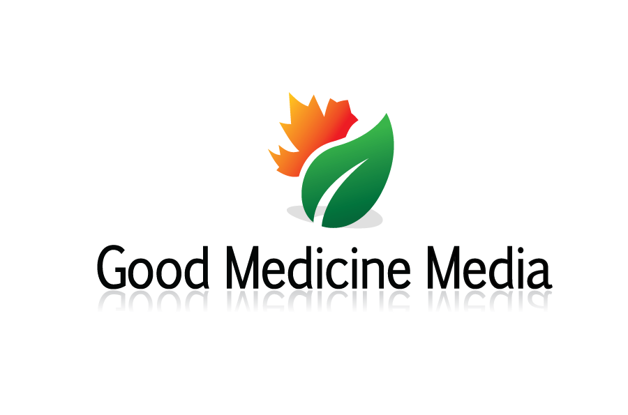 Logo Design by Christina Evans - Entry No. 101 in the Logo Design Contest Good Medicine Media Logo Design.