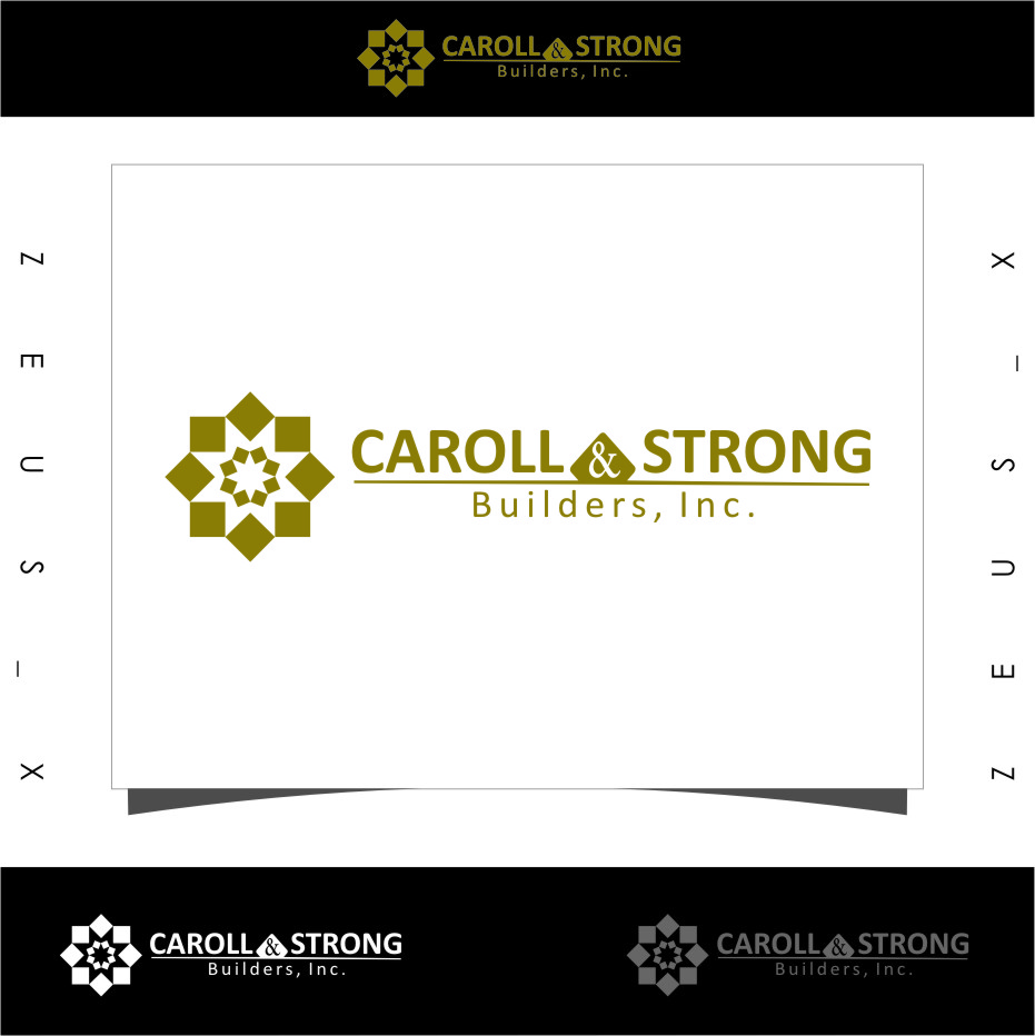 Logo Design by RasYa Muhammad Athaya - Entry No. 25 in the Logo Design Contest New Logo Design for Carroll & Strong Builders, Inc..